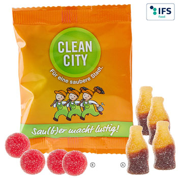 Sour fruit gum (20 g)