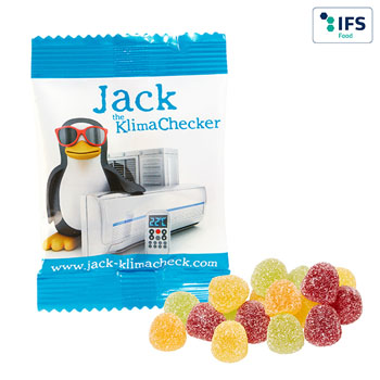 Refreshment fruit gum (10 g)