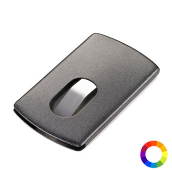 "Business card case ""SLIDE"""